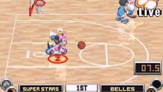 Gameplay of Disney Sports Basketball