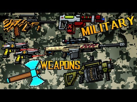 Pixel Gun 3D - Military Weapons Gameplay