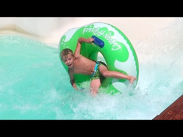 💦WATER SLIDE FAIL at Lagoon Water Park!