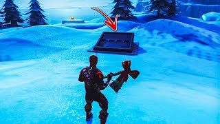 How to get INSIDE SECRET BUNKER by using this glitch in Fortnite Creative Mode! (Fortnite Glitch)