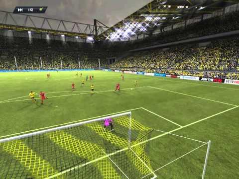 Борусия 3:0 Мордовия - FIFA13 #2 -