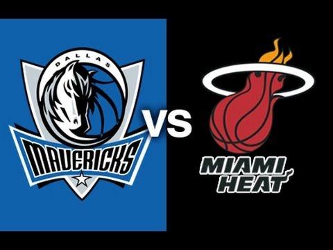 NBA 2K14: Miami Heat vs. Dallas Mavericks (2004-2005 NBA Season) HD