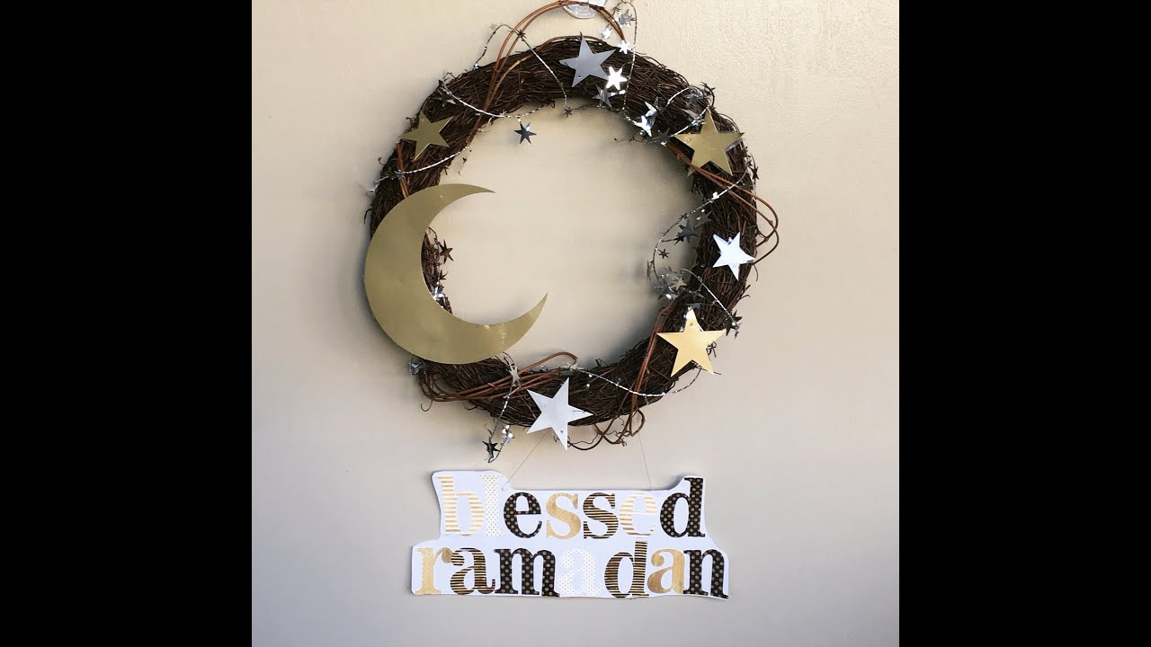 Diy Ramadan Door Wreath Youtube