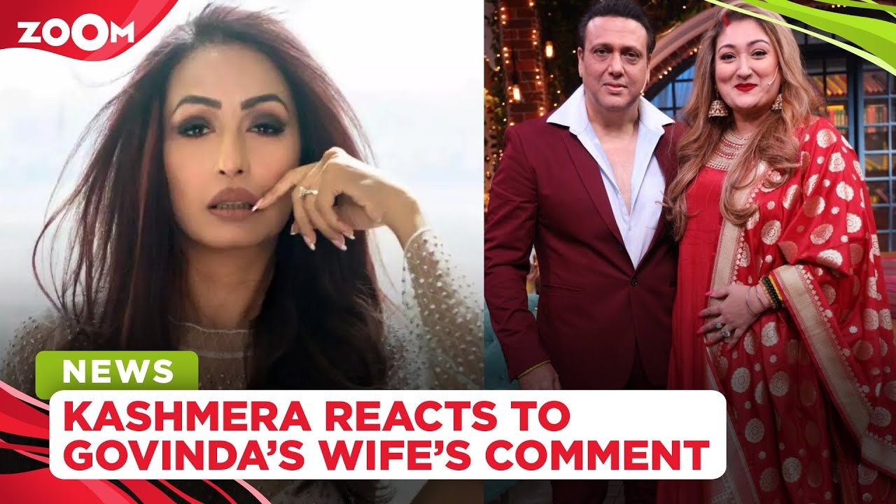 Kashmera Shah reacts to Govinda's wife Sunita Ahuja calling her a 'bad daughter in law'
