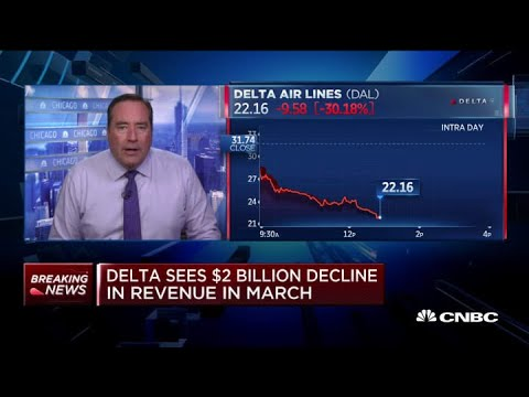Delta Sees $2 Billion Decline In Revenue During March