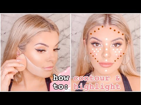 HOW TO: Highlight & Contour & Bake! 💨 Drugstore & High End Makeup Options 💸 Jasmine Hand