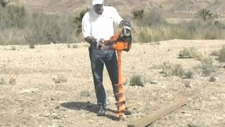 Lewis 6 Inch Hd Earth Auger. Great For Fence Post Holes, Tree Planting And General Construction.