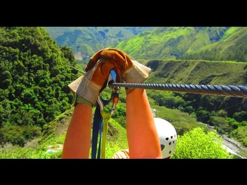 Cusco Zipline -  Tiroleza in Santa Tereza, Peru