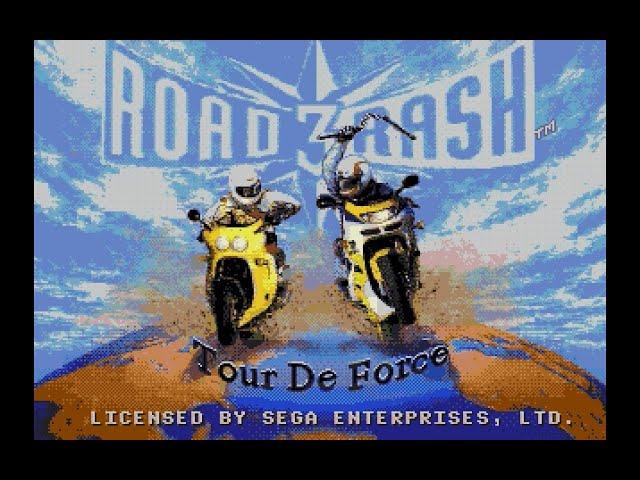 Mega Drive Longplay [221] Road Rash 3: Tour De Force