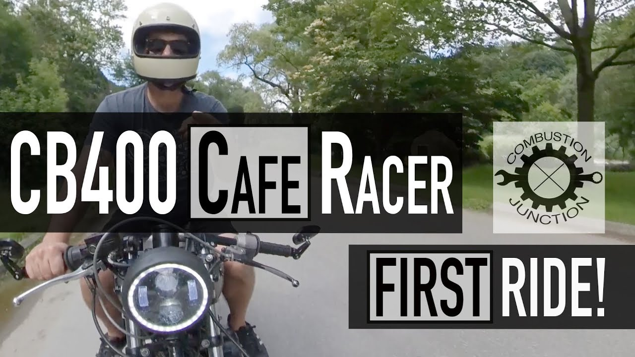 cafe racer build  cb/cm400 project  motovlog  first ride!! ep19