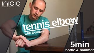 physio session: tennis elbow