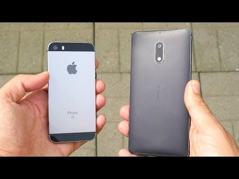 Thumbnail: iPhone SE vs Nokia 6 Speed Test!