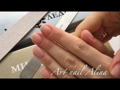 Дизайн ногтей мягкий квадрат