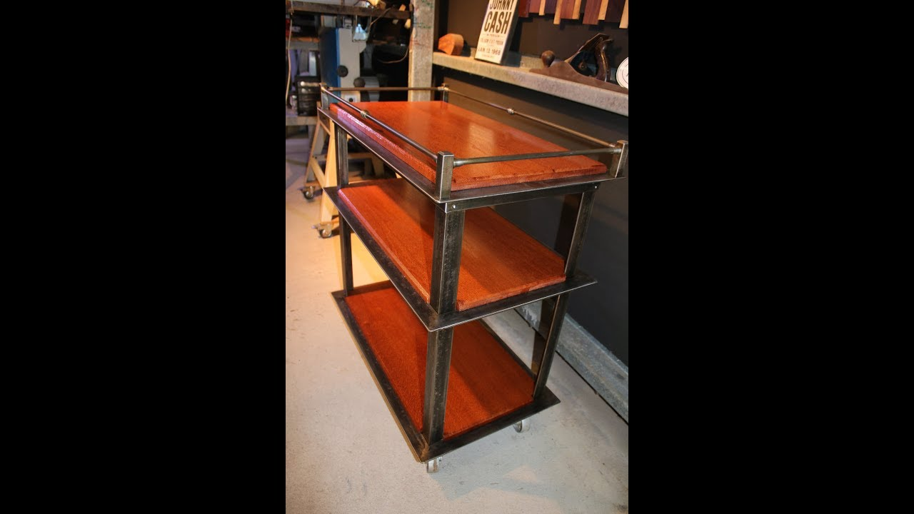 download drinks trolley bar cart industrial style
