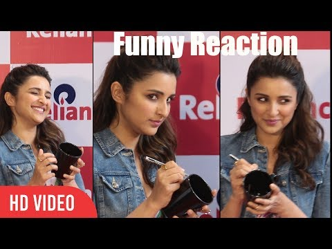 Pen Not Working Funny Reaction | Parineeti Chopra