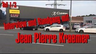 Philipp Kaess Live bei JP Performance / Interview und Rundgang mit Jean Pierre Kraemer Teil 1