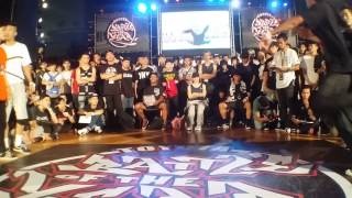 2015/6/6 BOTY Crew battle 5 on 5 4強 To be real Taiwan