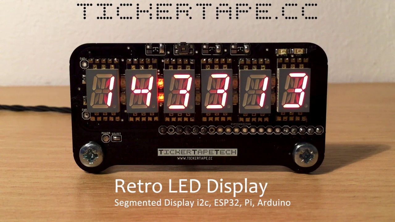 TICKERTAPE - Display Technology