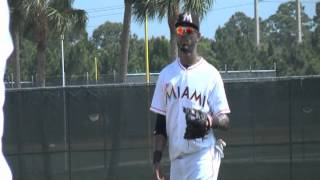 JOSE REYES y RAUL DIAZ SPRING TRAINING 2012 (MIAMI MARLINS)