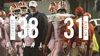 Clemson Football    Most Exciting Moments: NC State (2017)