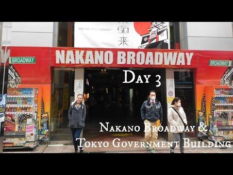 Tokyo Vlog: Day 3 Nakano Broadway & Tokyo Government Building