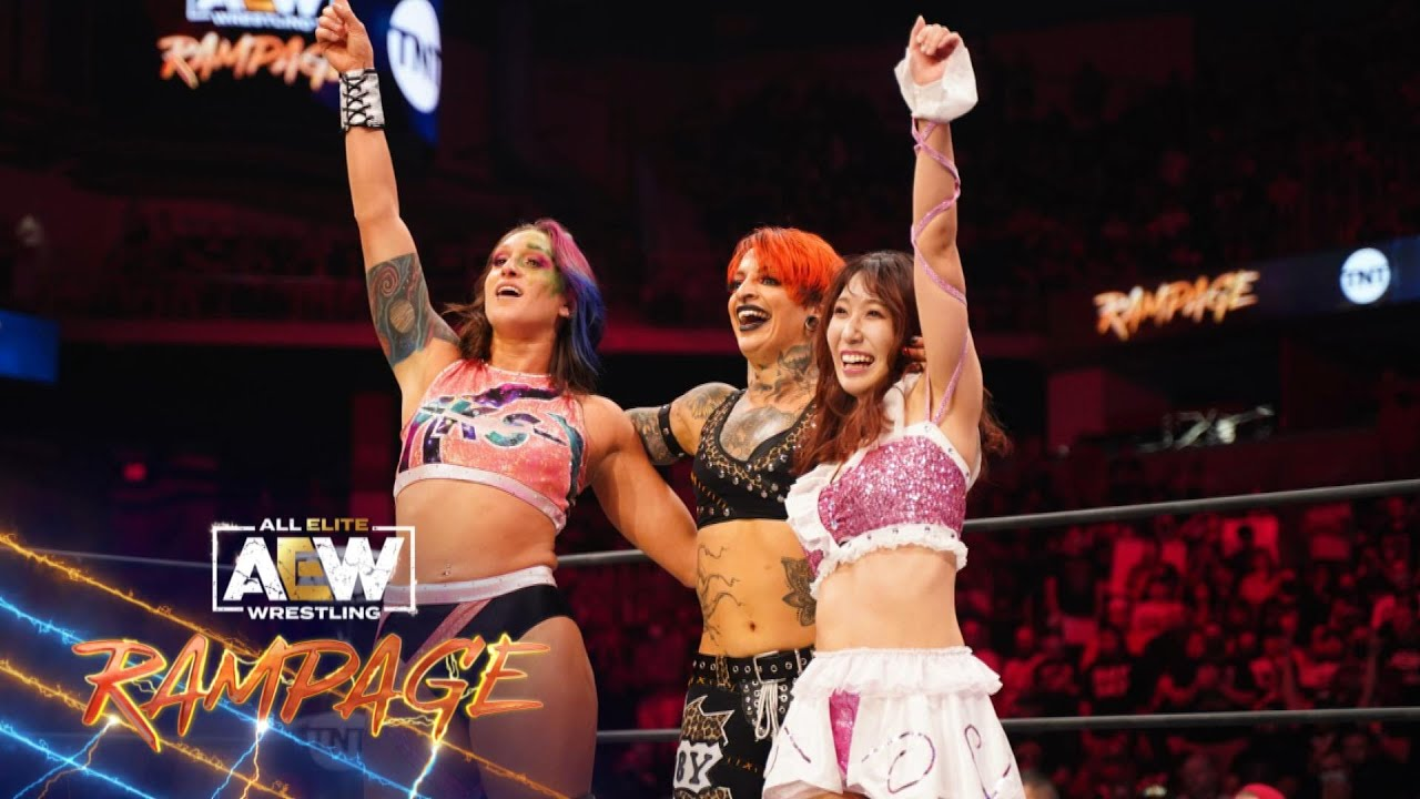 Trios Match: Did Ruby Soho Get Her Hands on AEW Women's Champ Dr. Britt Baker? | AEW Rampage 9/10/21