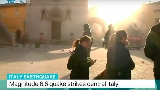 Italy Earthquake: Magnitude 6.6 quake strikes central Italy