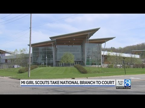 MI Girl Scouts take national branch to federal court