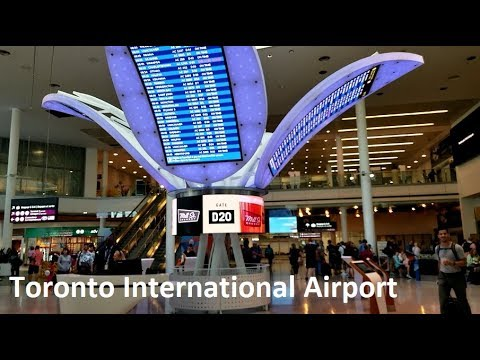 Departing From Toronto Pearson International Airport