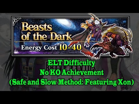 FF BE Beast of the Dark Trial: How to Defeat Dark Ifrit and Dark Siren(No KO) Achievement (#106)