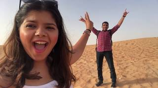DESERT SAFARI Vlog | BELLY DANCING, Camel Ride, Fire Show & More | Dubai #7