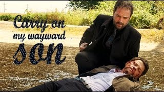 Repeat youtube video Supernatural - Carry on my wayward son (with lyrics)