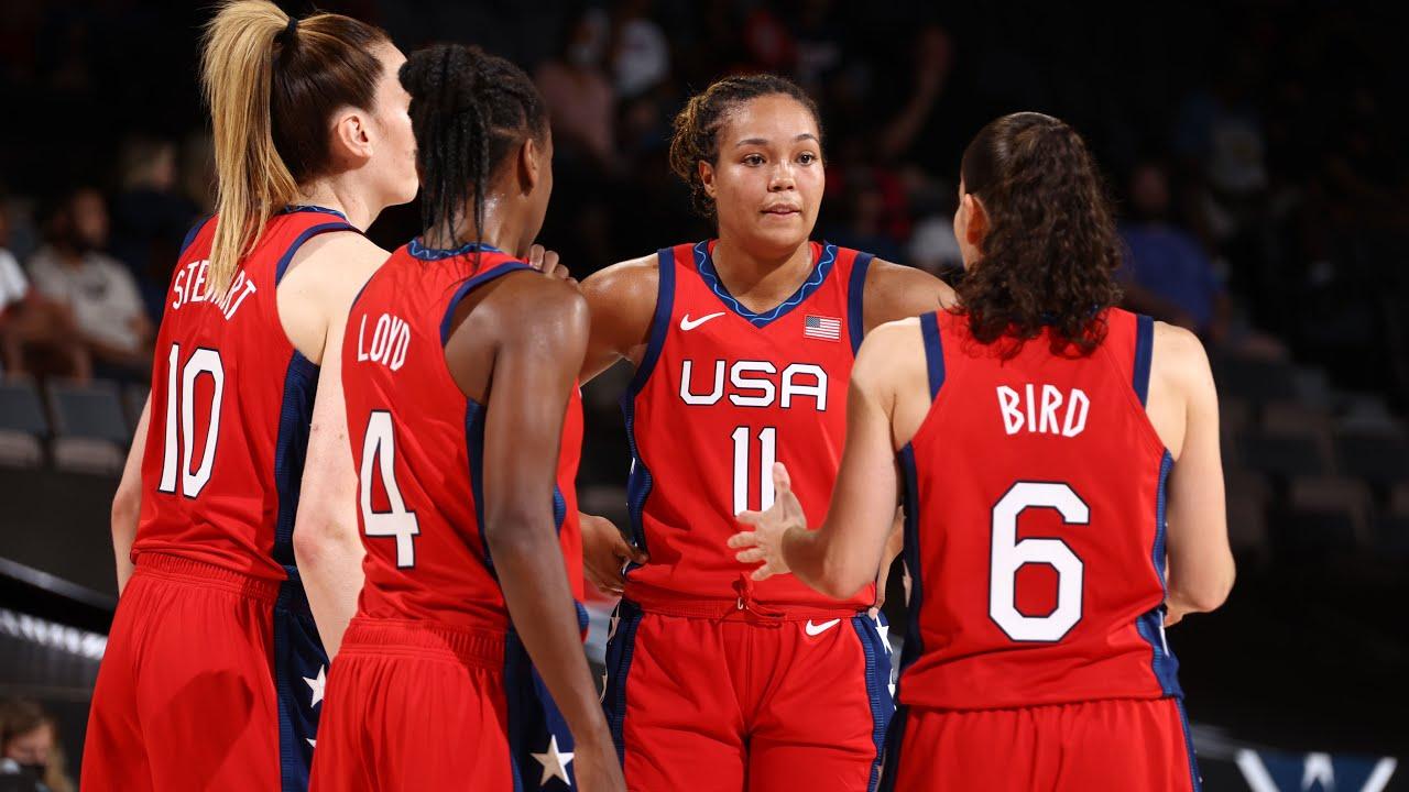 USA WOMEN'S NATIONAL TEAM vs. BASKETBALL AUSTRALIA   FULL GAME HIGHLIGHTS    July 16, 2021 - YouTube