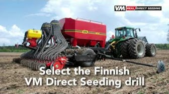 Real Direct Seeding - VM 6000 DS Pneuma