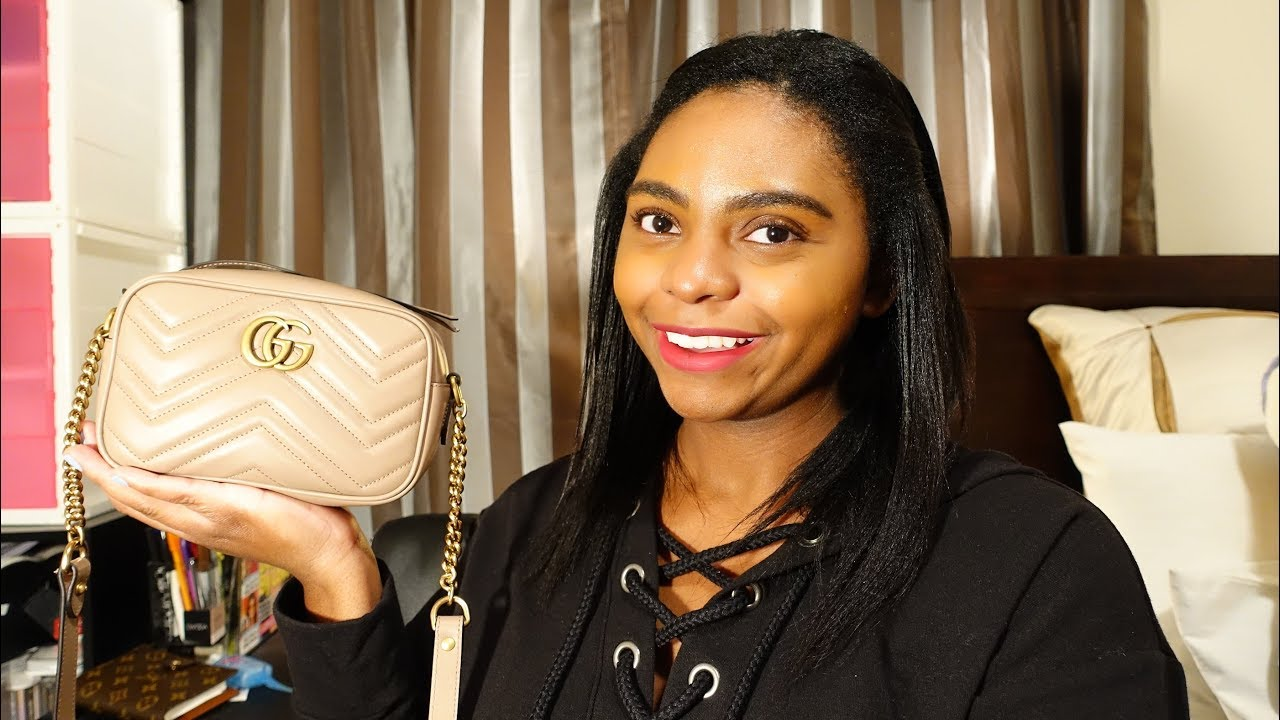 b17e20d08738 Reveal: Gucci GG Marmont 2.0 Matelasse Leather Camera Bag - YouTube