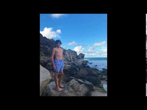 Lincoln Melcher first shirtless photo ever  31 December 2017