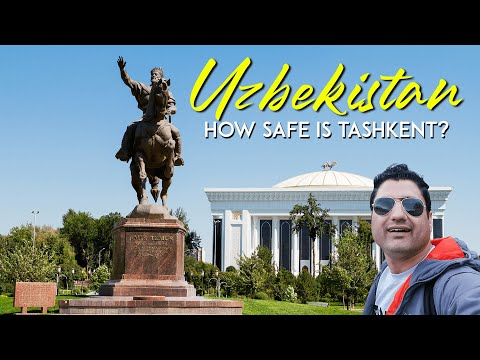 My Last Day in Tashkent Uzbekistan || How Dangerous is Tashkent?