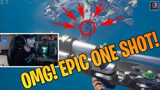 Summit's Epic One Shot to Crows Nest | CDN's Godly Cannon Skills - Sea of Thieves Clips & Highlights