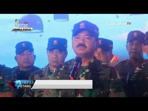 TNI Gelar Latihan Pasukan Pemukul Reaksi Cepat di Mimika
