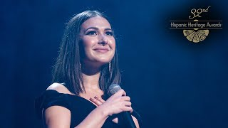 "LIVE! Tribute to Venezuela  - ""Volveré a mi tierra"" by Nella Rojas - 32nd Hispanic Heritage Awards"