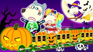 Wolf Family⭐️ It's Halloween Night with Wolfoo - Kids Stories About Wolfoo Family | Kids Cartoon