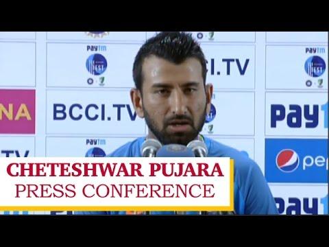 India vs Australia, 2nd Test at Bengaluru, Day 2  Cheteshwar Pujara Press Conference