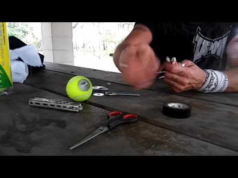 Rope Dart Tutorial: Tennis Ball Practice Dart
