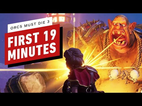 The First 19 Minutes of Orcs Must Die 3 Gameplay