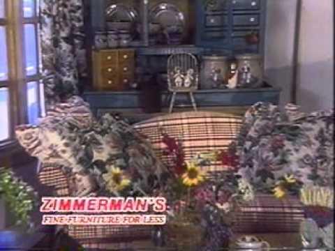 ZimmermansHome   1991 Zimmermanu0027s Furniture Commercial  Www.zimmermanshome.com