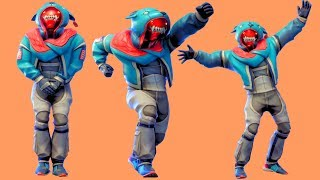 Fortnite All Dances Season 1-6 with Growler Updated to Criss Cross