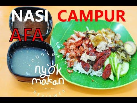 Nasi Campur Afa, Krendang