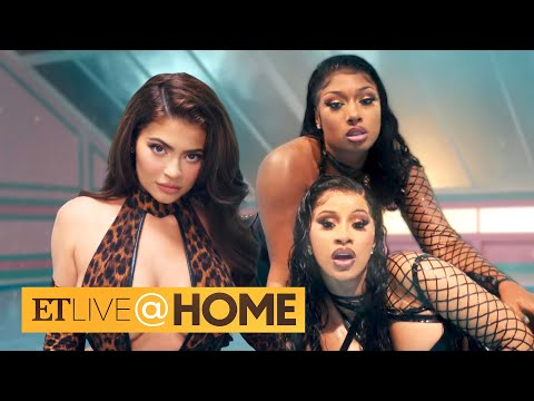 Cardi B Defends Kylie Jenner's Cameo in 'WAP' Video After Fans Sign Petition | ET Live @ Home