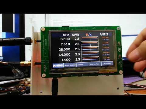 Improved EU1KY Antenna Analyzer CEC V0 3