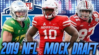 Way Too Early 2019 NFL Mock Draft